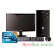 Dell Vostro 3670MT 8th Gen Core i3 RAM 4GB DDR4 HDD 1 TB 18.5 inch Monitor - Black