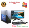 Desktop Computer with Intel® Core i3, RAM 4GB, HDD 1TB, Graphics 2GB Built-In, Monitor 19