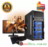 Intel® Core i3 RAM 8GB HDD 500GB Graphics 2GB Built in and Monitor 19'' Gaming PC Windows 10 64