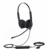 JABRA BIZ 1500 Duo (Dual Ear) USB Headphone Black