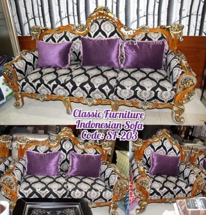 Classic Furniture  Indonesian Sofa