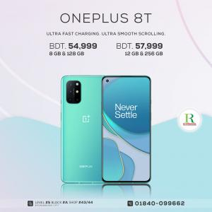 OnePlus 8T 12/256GB price in bangladesh