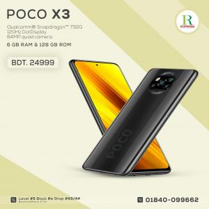 POCO X3 6/128GB Indian Global price in bangladesh