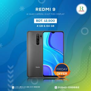 Readmi 9 4/64Gb China price in bangladesh