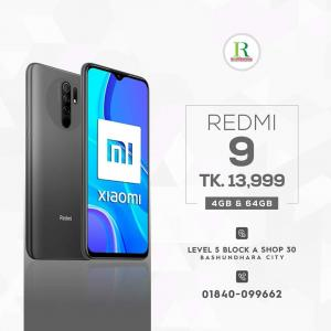 Redmi 9 4/64Gb price in bangladesh