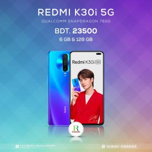 Redmi K30i 5G 6/128Gb China price in bangladesh