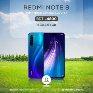 Redmi Note 8 4/64GB China price in bangladesh