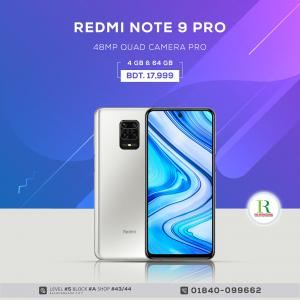 Redmi Note 9 pro 4/64gb price in bangladesh