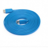 3m USB Flat High Speed Extension Cable