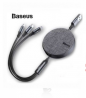 Baseus Fabric 3 in 1 USB Flexible Cable Price in Bangladesh