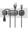 Baseus Peas Cable Clip Black