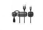 Details Baseus ACWDJ-01 Peas Cable Clip - Black
