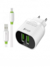iPhone Fast Charger Dual A202 with Data Cable Price Bangladesh