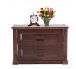 Oak Veneer Processed Wood Bed Side Table MF-W-BCH-003.