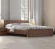 Regal Wooden Double Bed BDH-304.