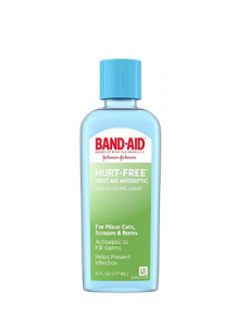 BAND-AID Hurt-Free First AID Antiseptic Wash, 6 oz