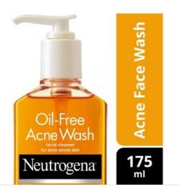 Neutrogena Oil-Free Acne Wash (175ml)