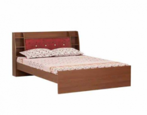 Regal Laminated Board Double Bed BDH-135