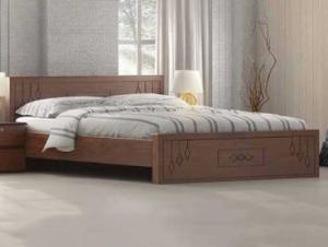 Regal Wooden Double Bed BDH-304