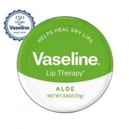 Vaseline Lip Therapy Aloe Tin