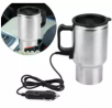 12V 450ml Car Hot Kettle Thermal Travel Cup Coffee Heated Mug Water Heater Maker- Hot kettle