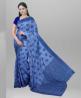 Cotton Jolchap Handwork Jamdani Design Saree with Blouse Piece - SRH241
