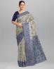 Cotton Jolchap Handwork Jamdani Design Saree with Blouse Piece - SRH240