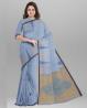 Cotton Senti Saree with Blouse Piece - SRH18