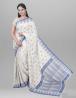 Cotton Sharja Saree with Blouse Piece - SRH21