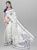Cotton Sunflower Jamdani Saree with Blouse Piece - SRH12