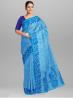 Cotton Topfull Jamdani Design Saree with Blouse Piece - SRH242