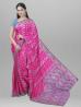 Dumurful Jamdani Design Half Silk Tangail Saree - SHV53