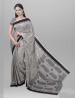 Handloom Chameli Black & Silver Par Saree - SRH17