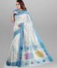 Handwork Jamdani Design Cotton Saree - SKV14