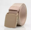 Men's Outdoor Combat Nylon Canvas Belt Buckle Non Metal
