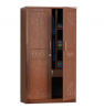 Oak Veneer Processed Wood Almirah MF-W-CBH-003