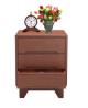 Oak Veneer Processed Wood Bed Side Table MF-W-BCH-001