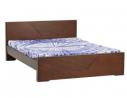 Oak Veneer Processed Wood Double Bed MF-W-BDH-002