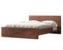 Oak Veneer Processed Wood Double Bed MF-W-BDH-001