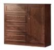 Oak Veneer Processed Wood Wardrobe MF-W-WDH-002
