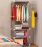 Plastic Clothing Rack GY-288