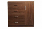 Regal Laminated Board Wardrobe WDH-101