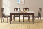 Regal Wooden Dining Set (6 Seats) - TDH-314 & CFD-314 (6 PCS)