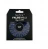 Technic False Nails With Glue - Squareletto Gloss Navy - 24 Pcs