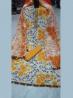Unstitched Cotton 3 Pieces Dress Set MK34