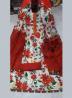 Unstitched Cotton 3 Pieces Dress Set MK33