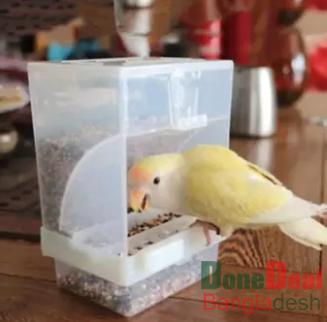 1pcs Premium China New Model Bird Automatic Feeding Pot ( খাবার অপচয় হয় না)