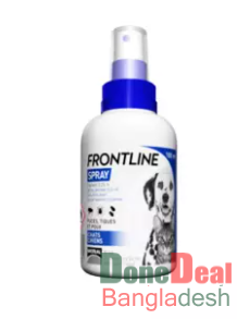 Frontline Spray (100ml) – Flea & Tick Treatment for Cats & Dogs