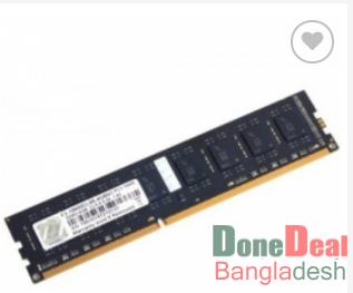 G.Skill NT-Series 8GB DDR3 1600Mhz Desktop RAM