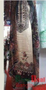Shamu Silk Unstitched 3 Pieces Dress Set – MK47